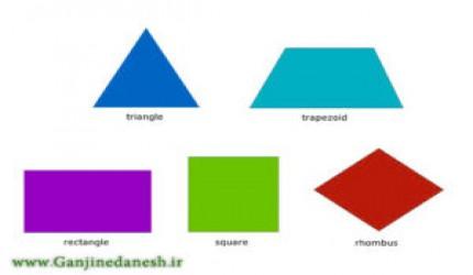 تمامی مساحت ها و محیط ها و حجم های اشکال هندسی